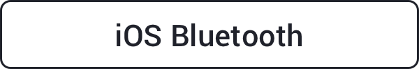 iOS Bluetooth