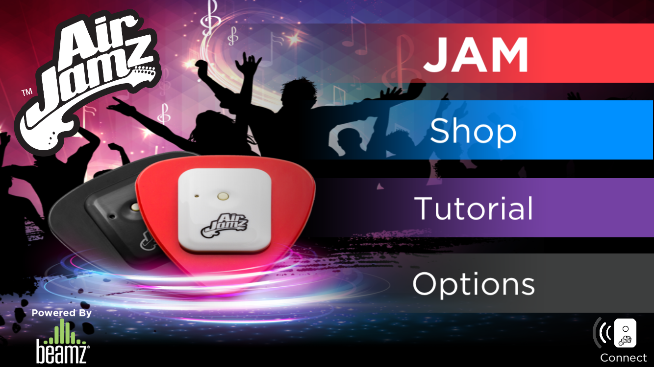How to adjust the music & sound FX volume in the Airjamz app – Help